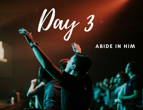 Day 3 – 21 Days of Prayer