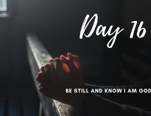 Day 16 – 21 Days of Prayer