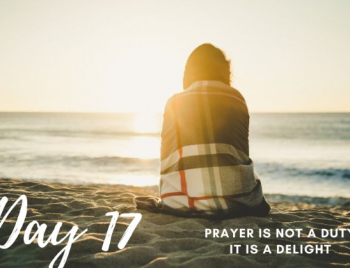 Day 17 – 21 Days of Prayer