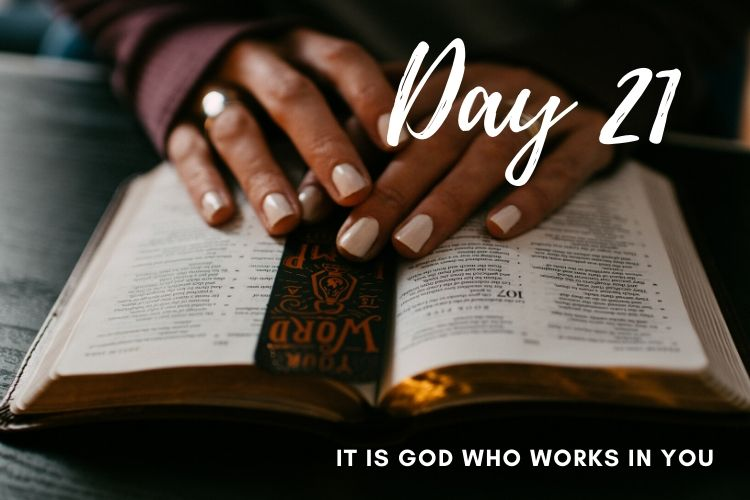 Day 21 New Life 21 Days of Prayer
