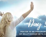 Day 5 - 21 Days of Prayer