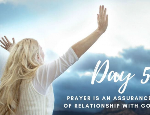 Day 5 – 21 Days of Prayer